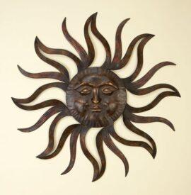 Metal Wall Sun