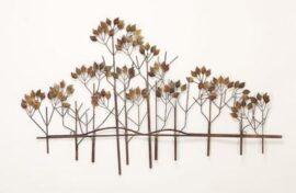 Metal Wall Tree Art