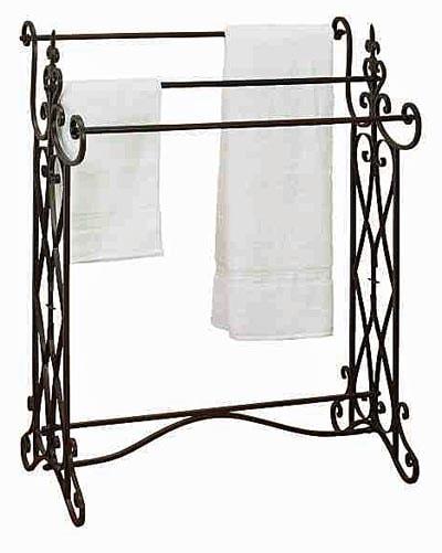Metal TOWEL or Quilt Rack