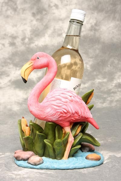 Flamingo Wine Bottle Holder