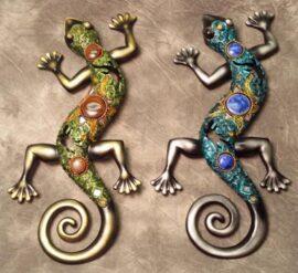 Assorted Decorative Wall Lizard