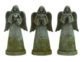 Assorted Garden Angel Figurine