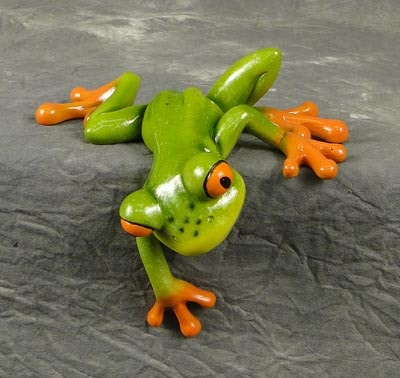 Shelf Sitting Frog Figurine Globe Imports