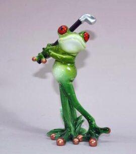Frog Swinging Golf Club