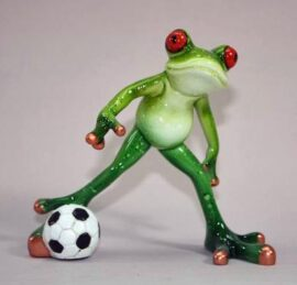 Soccer Playing Frog