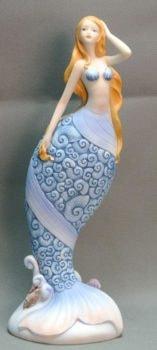 Stylized Mermaid Figurine