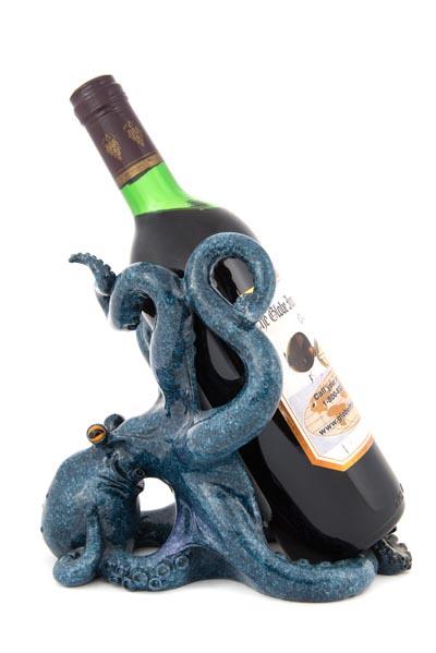 Octopus Wine Bottle Holder Globe Imports