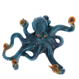 Blue Octopus Wall Hook or Table Top Decoration