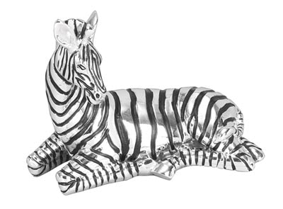 Black and Silver Zebra