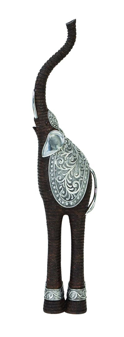 Ornate Elephant Figurine