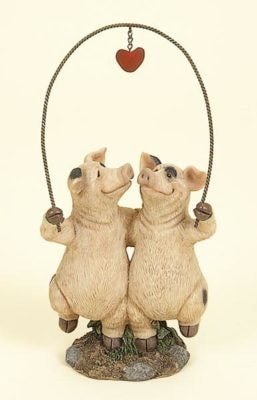 Pigs in Love Jumping Rope