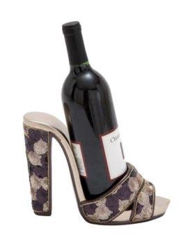 Sandal Wine Bottle Holder