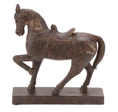 Emperor Warrior Horse Statue