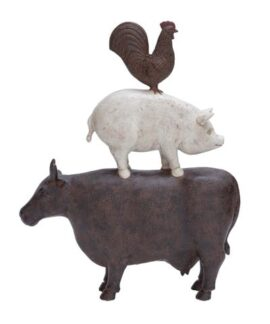 Barnyard Animals Figurine