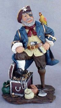 Pirate Captain Figurine