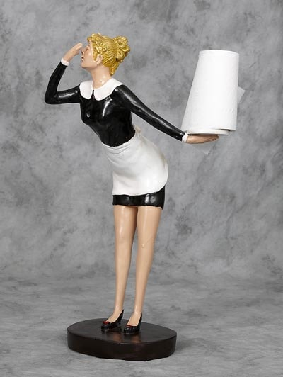 Toilet Paper Maid Globe Imports