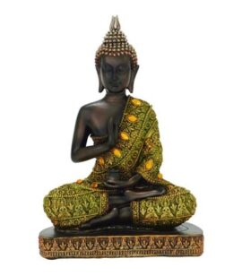 Protection Pose Buddha Figurine