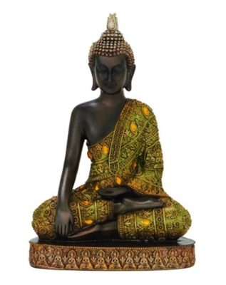 Enlightenment Pose Buddha Figurine