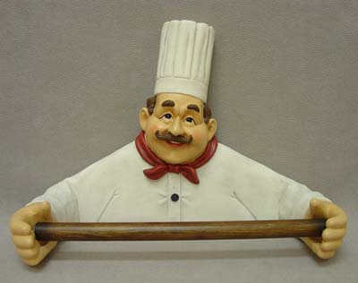 Chef Paper Towel Rack Globe Imports