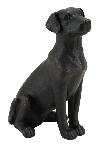 Labrador Retriever Dog Bronze Color Globe Imports