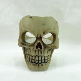 Skull with Tealight Candle