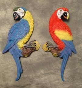 Assorted Parrot Wall Decoration