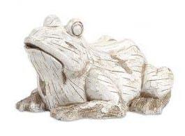 Jumbo White Garden Frog