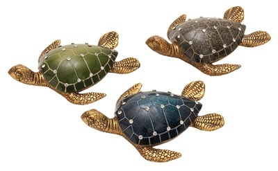 Assorted Rhinestone Sea Turtle