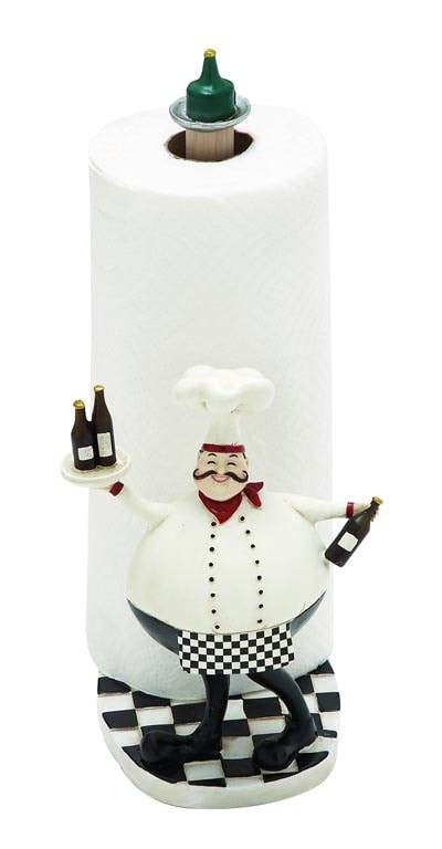 Paper TOWEL Holder with Chef