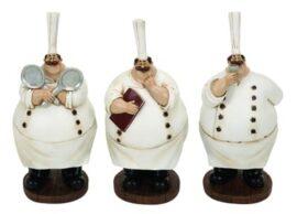Assorted Fat Chef Figurine