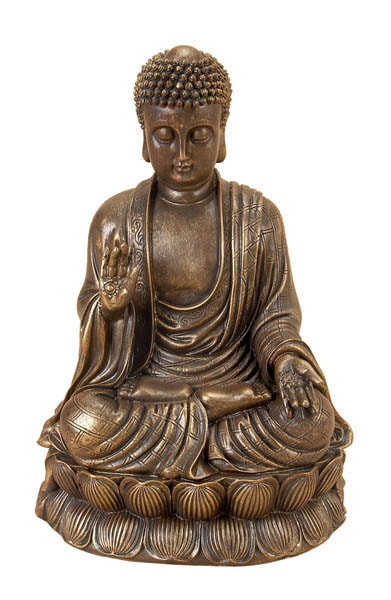 Bronze Colored Buddha
