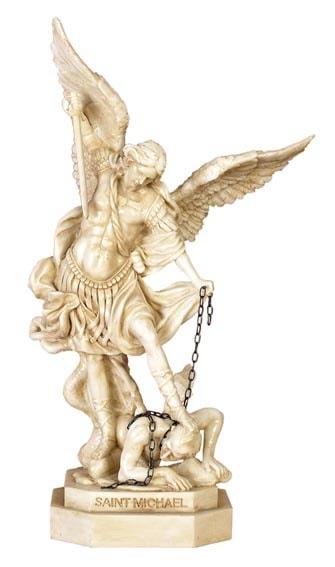 Saint Michael Statue Globe Imports