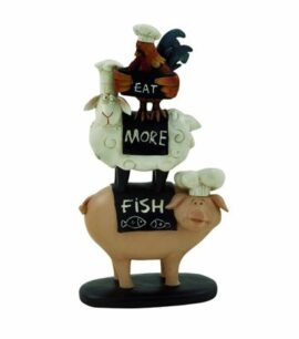 Stacked Farm Animal Figurne