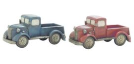 Assorted Antique Truck Decoration