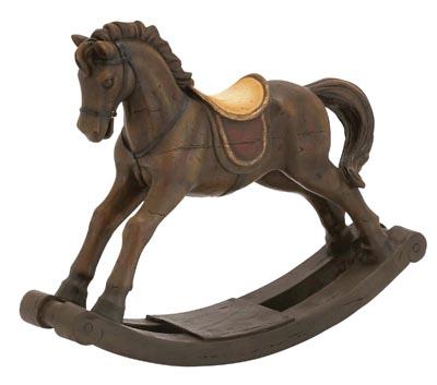 Decorative Rocking Horse Globe Imports