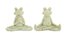 Assorted Yoga Garden Frog