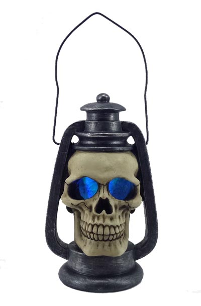 Led Light Up Skull Lantern Globe Imports