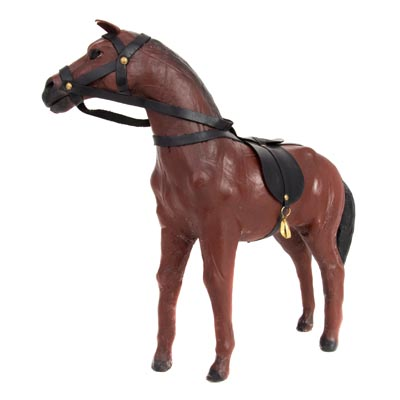 Decorative LEATHER Horse