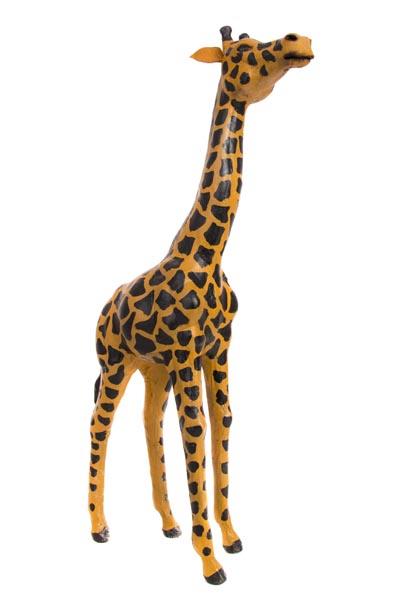 Decorative Leather Giraffe Globe Imports
