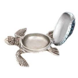 Blue Sea Turtle Storage Dish