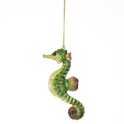 seahorse hanging ornament - Seahorse Christmas Ornament