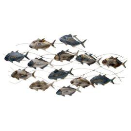 School of Fish Wall Decoration
