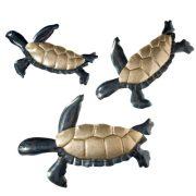 Set of 3 Wall Sea Turtles