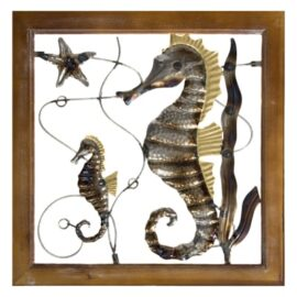 Seahorses Wall Decoration