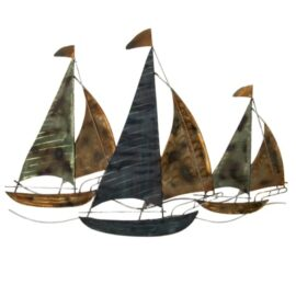 Sailboats Wall Decor