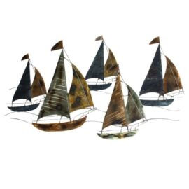 Sailing Regatta Wall Decor