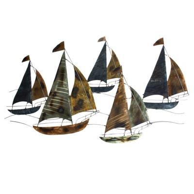 Sailing Regatta Wall Decor