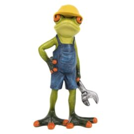 Worker Frog with Wrench