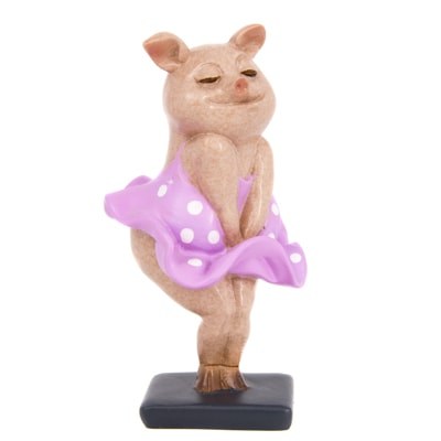Pig in Pink Dress