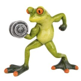 Frog Weightlifter